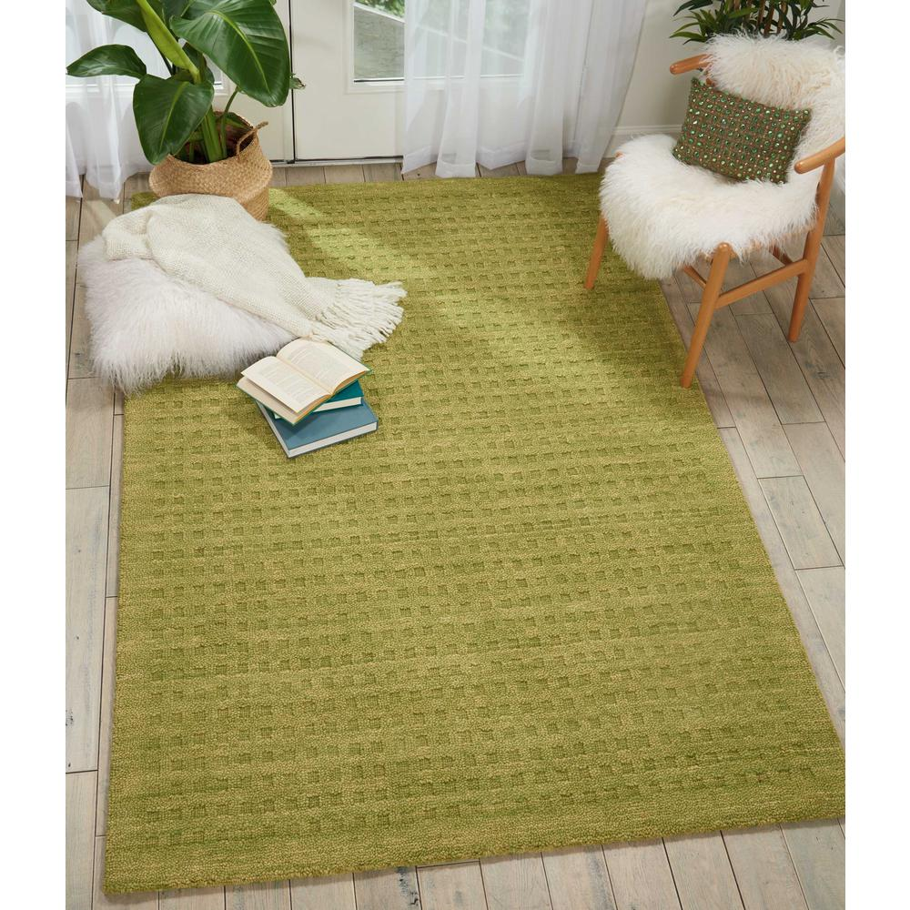 "Perris Area Rug, Green, 5' x 7'6"". Picture 2"