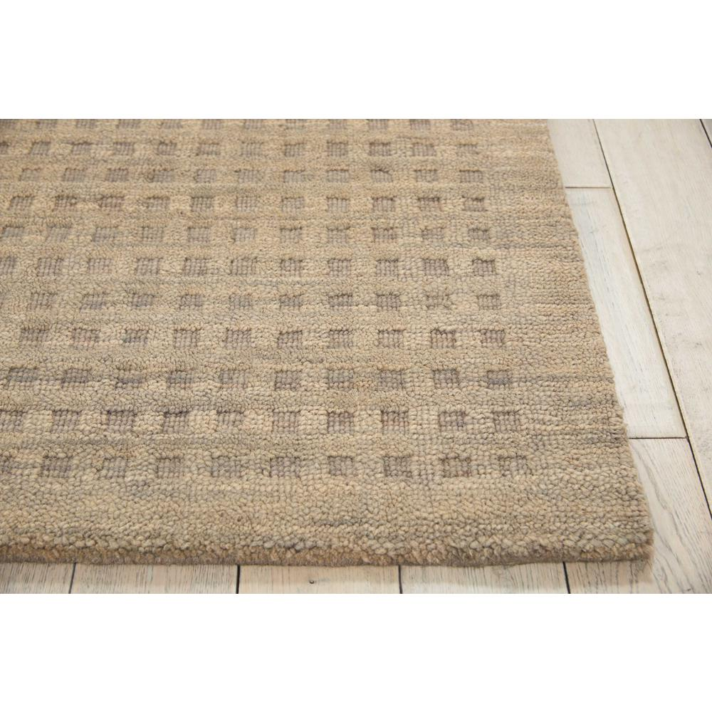 "Perris Area Rug, Latte, 6'6"" x 9'6"". Picture 3"