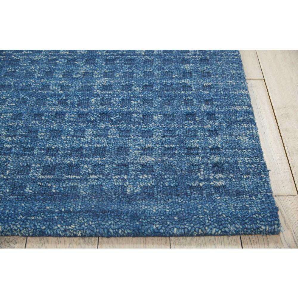 """Perris Area Rug, Navy, 5' x 7'6"""". Picture 3"""