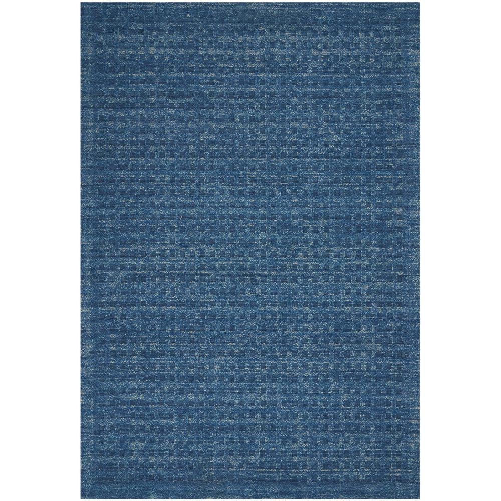 """Perris Area Rug, Navy, 8' x 10'6"""". Picture 1"""