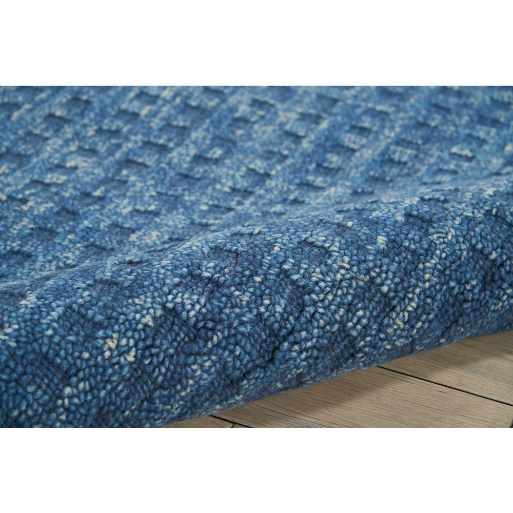"""Perris Area Rug, Navy, 8' x 10'6"""". Picture 5"""