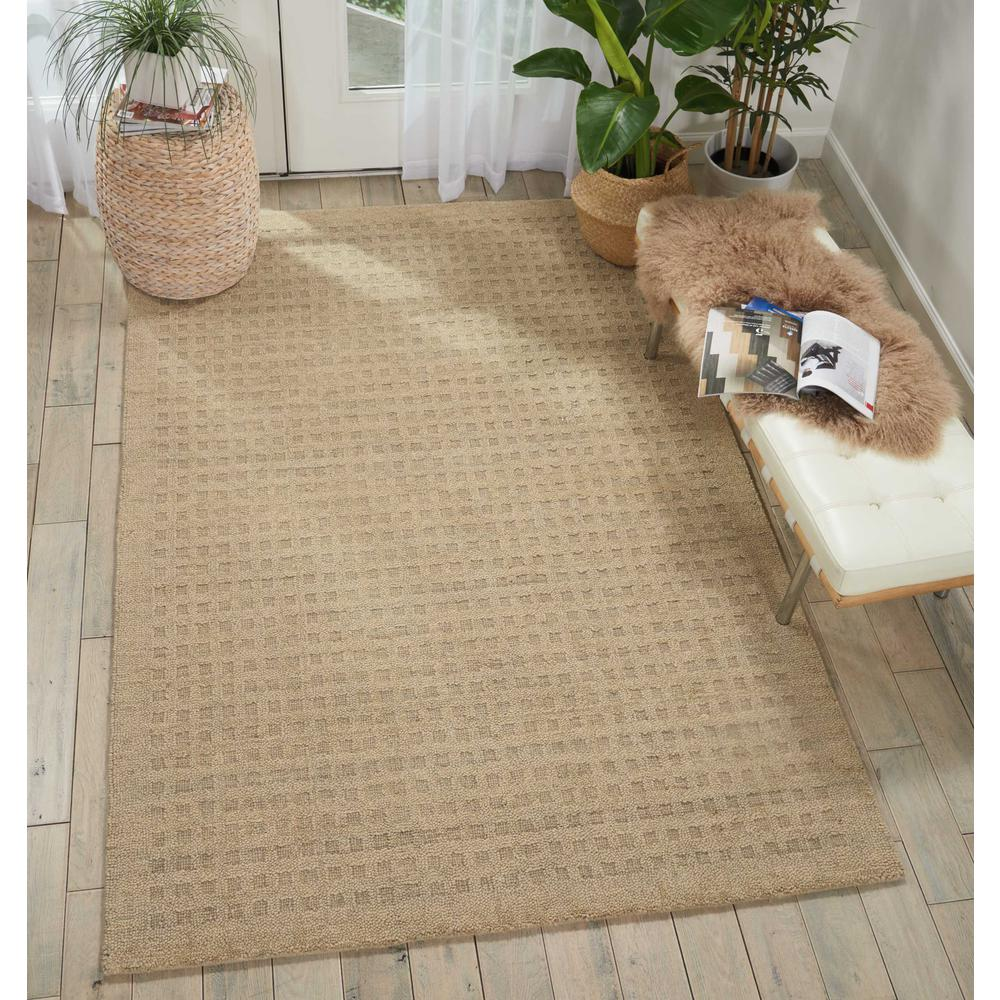 """Perris Area Rug, Taupe, 6'6"""" x 9'6"""". Picture 2"""