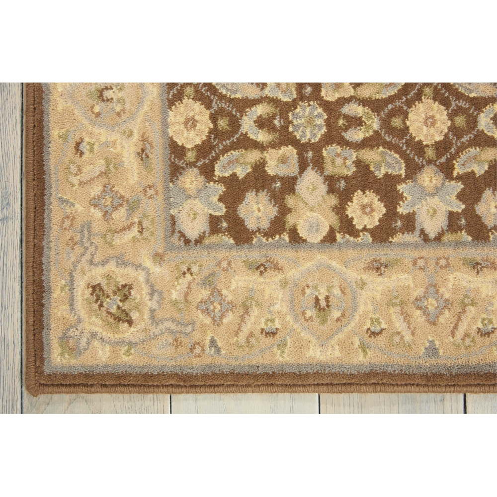 Nourison Persian Empire Chocolate Area Rug. Picture 2