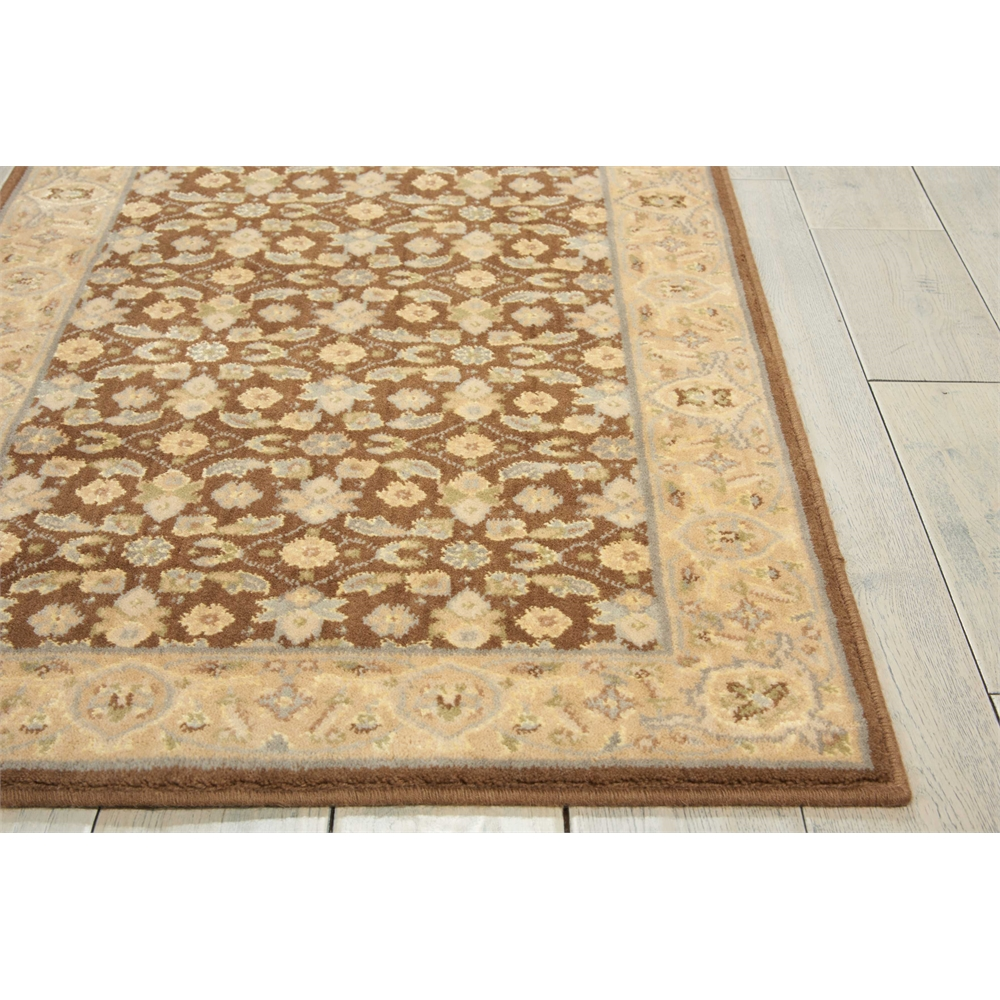 Nourison Persian Empire Chocolate Area Rug. Picture 3