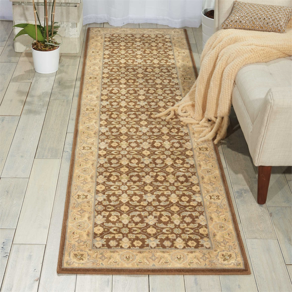 Nourison Persian Empire Chocolate Area Rug. Picture 4