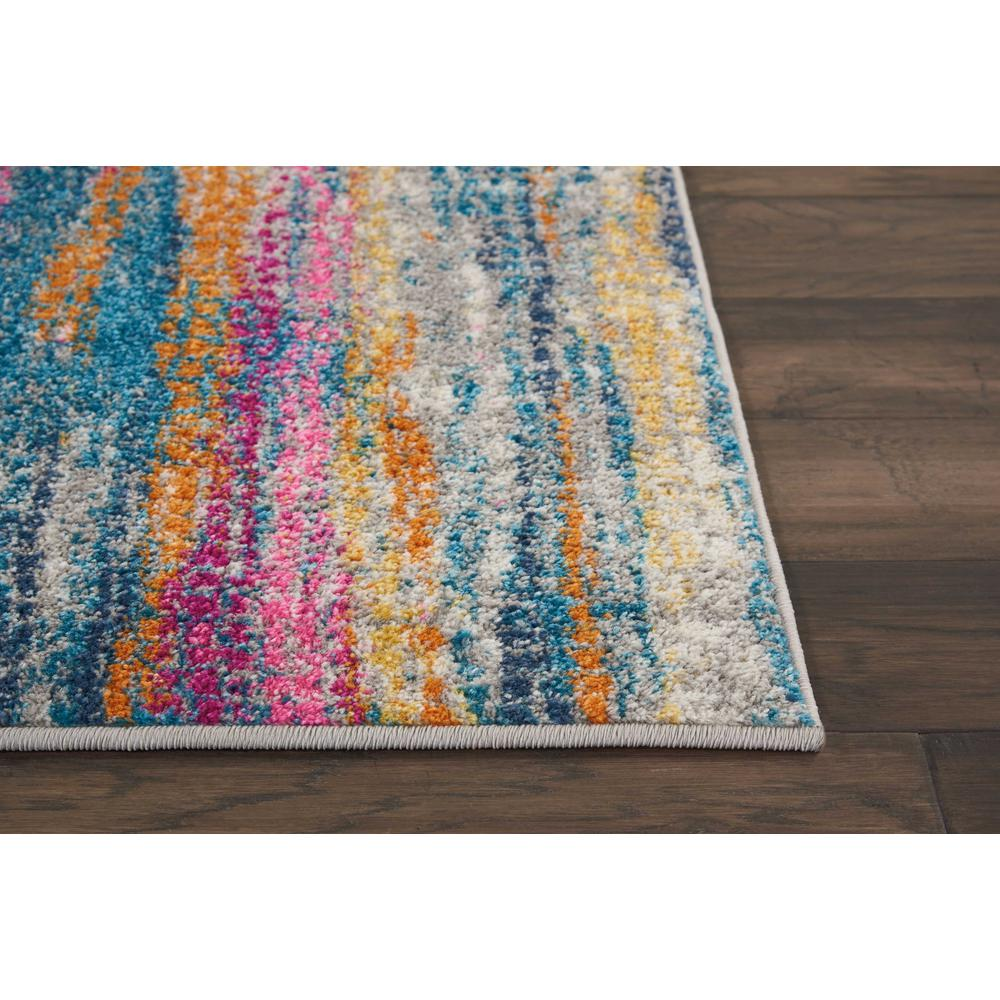 "Passion Area Rug, GREY/Multicolor, 1'10"" x 6'. Picture 4"