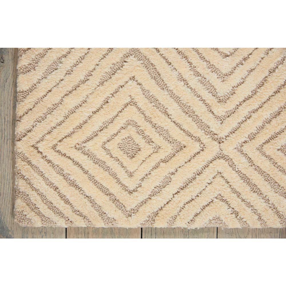 "Modern Deco Area Rug, Taupe/Ivory, 8' x 10'6"". Picture 2"
