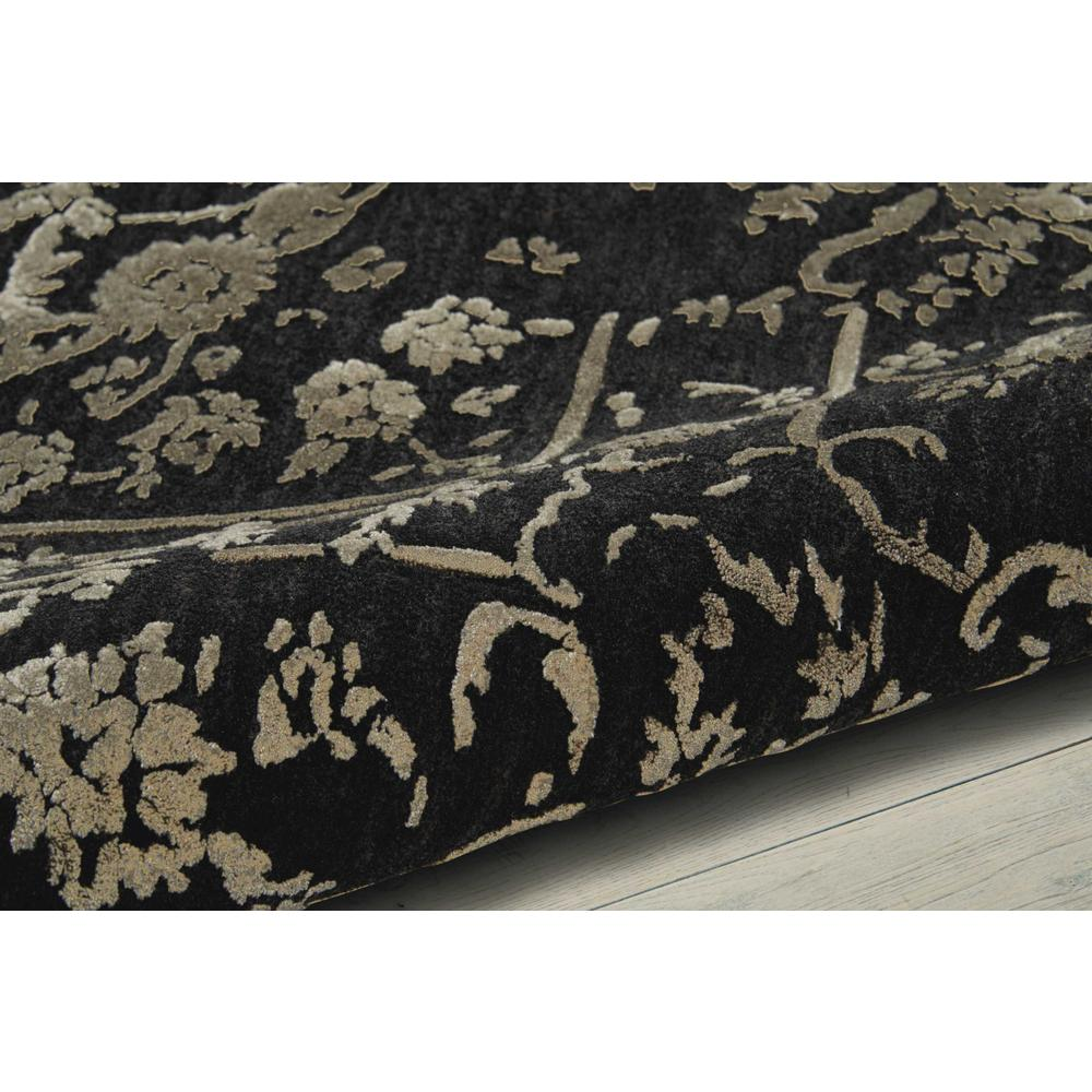 """Opaline Area Rug, Mmidnight/Silver, 5'6"""" x 7'5"""". Picture 3"""