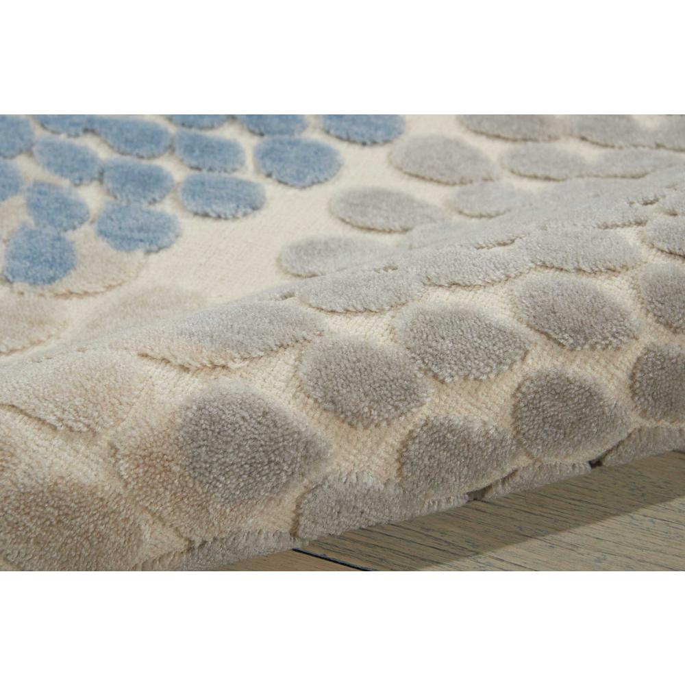 """Graphic Illusions Area Rug, Ivory/Blue, 7'9"""" x 10'10"""". Picture 3"""