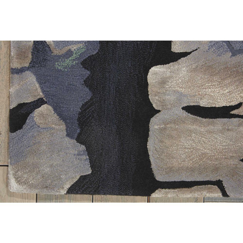 Nourison Prismatic Charcoal Area Rug. Picture 2
