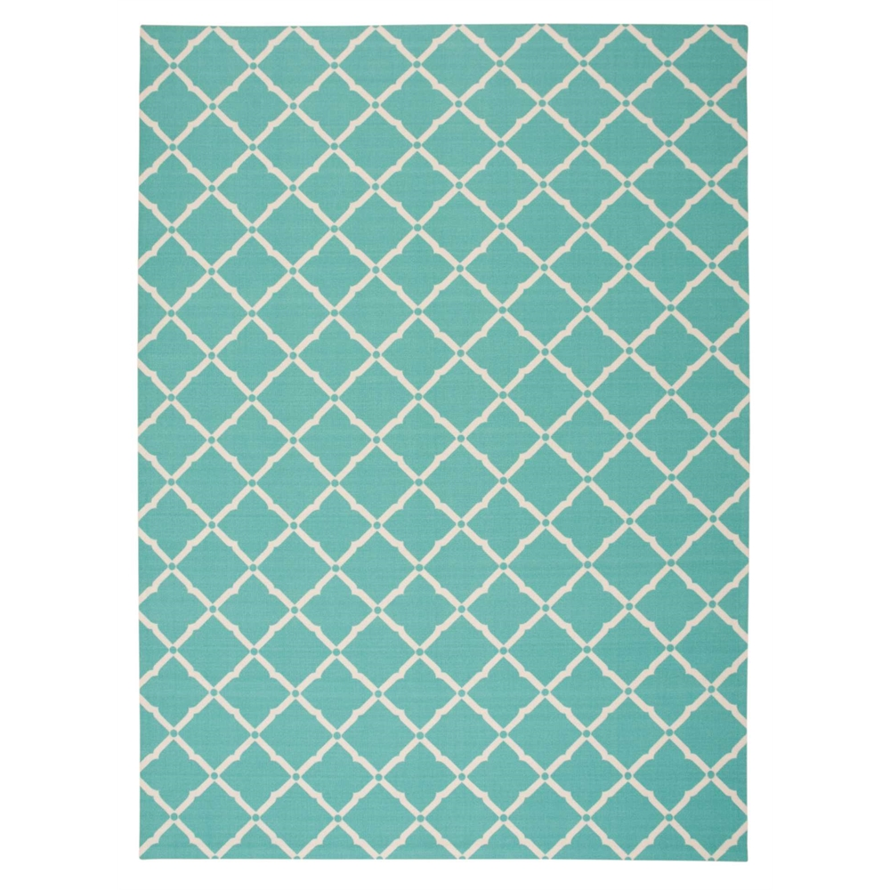 Home Amp Garden Aqua Indoor Outdoor Area Rug
