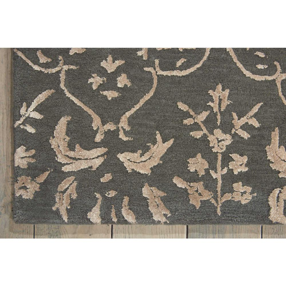 Nourison Opaline Charcoal Area Rug. Picture 2