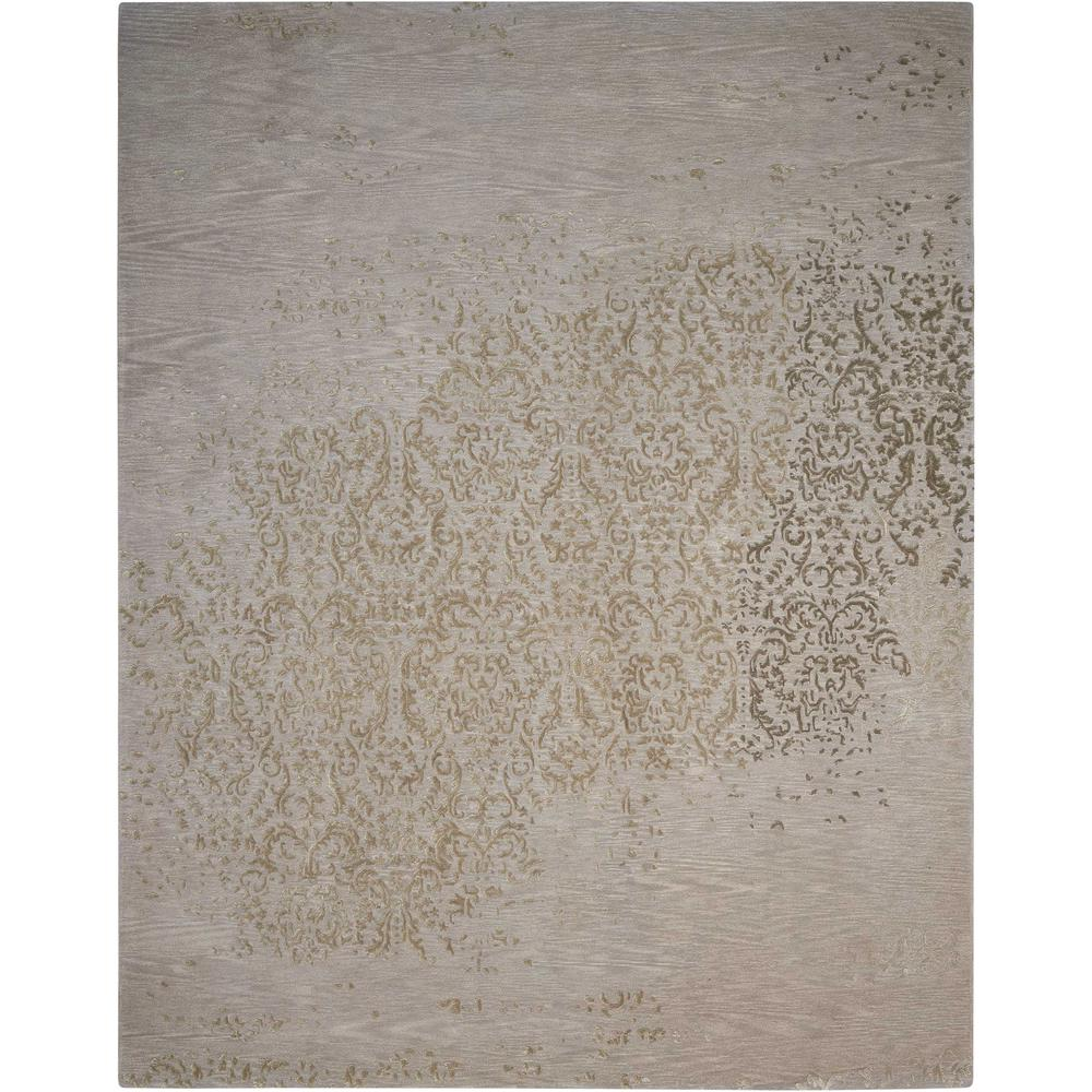 "Opaline Area Rug, Silver, 3'9"" x 5'9"". Picture 1"