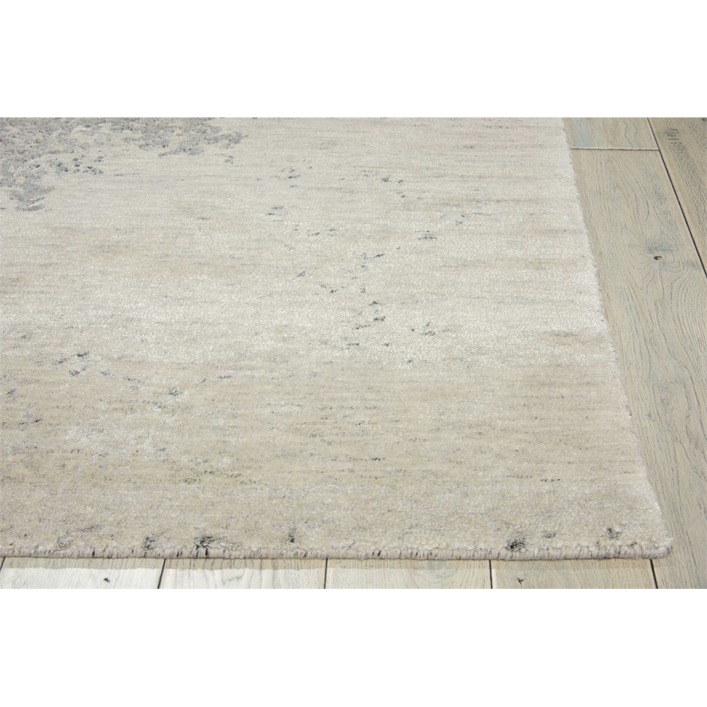 Silk Shadows Ivory/Silver Area Rug. Picture 3