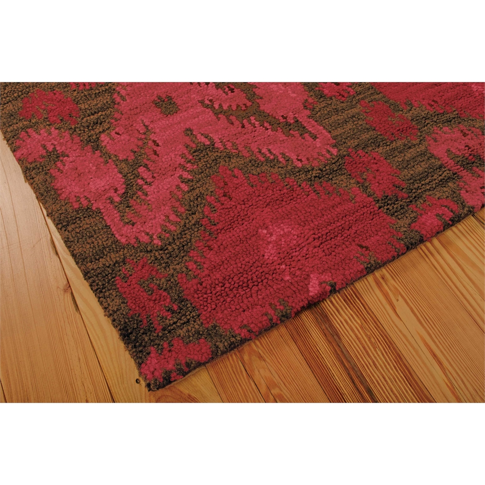 Siam Brown/Red Area Rug. Picture 1