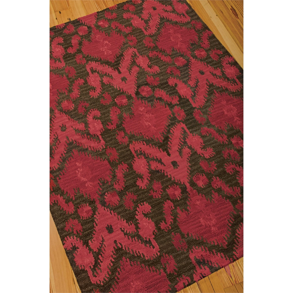 Siam Brown/Red Area Rug. Picture 2