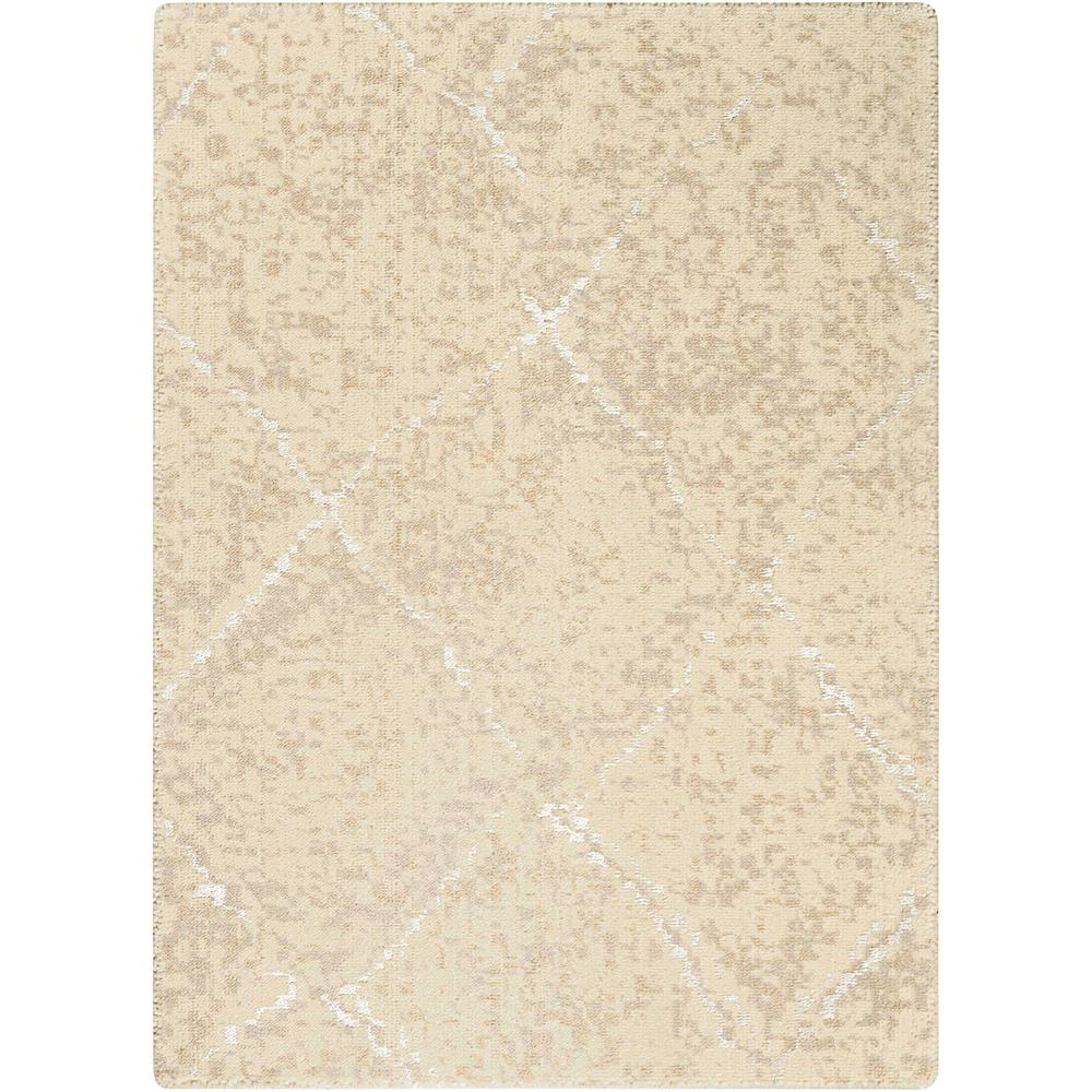 Nourison Silk Elements Natural Area Rug. Picture 1