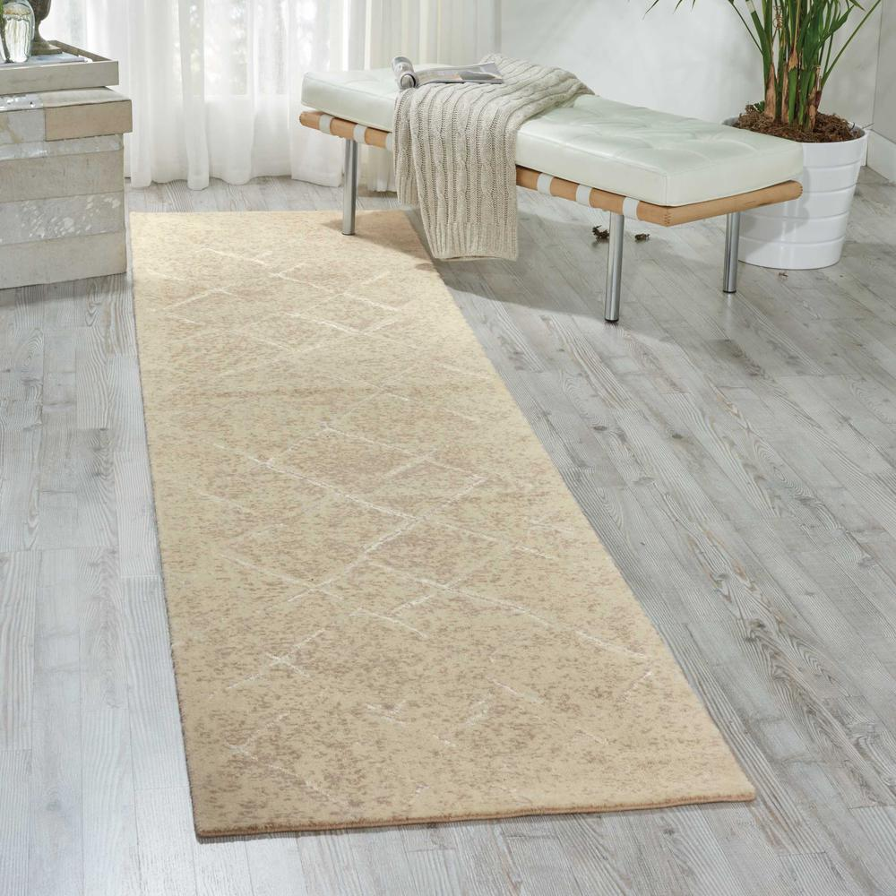 Nourison Silk Elements Natural Area Rug. Picture 2