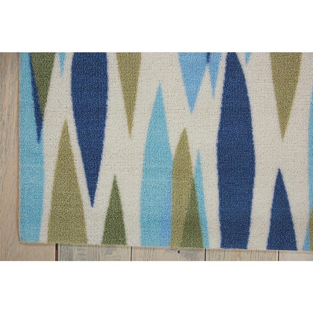 "Sun N Shade Area Rug, Seaglass, 2'3"" x 3'9"". Picture 3"