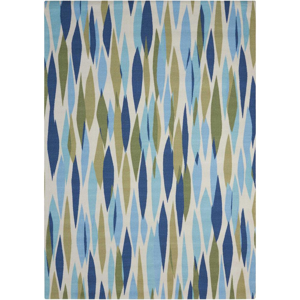 "Sun N Shade Area Rug, Seaglass, 2'3"" x 3'9"". Picture 1"