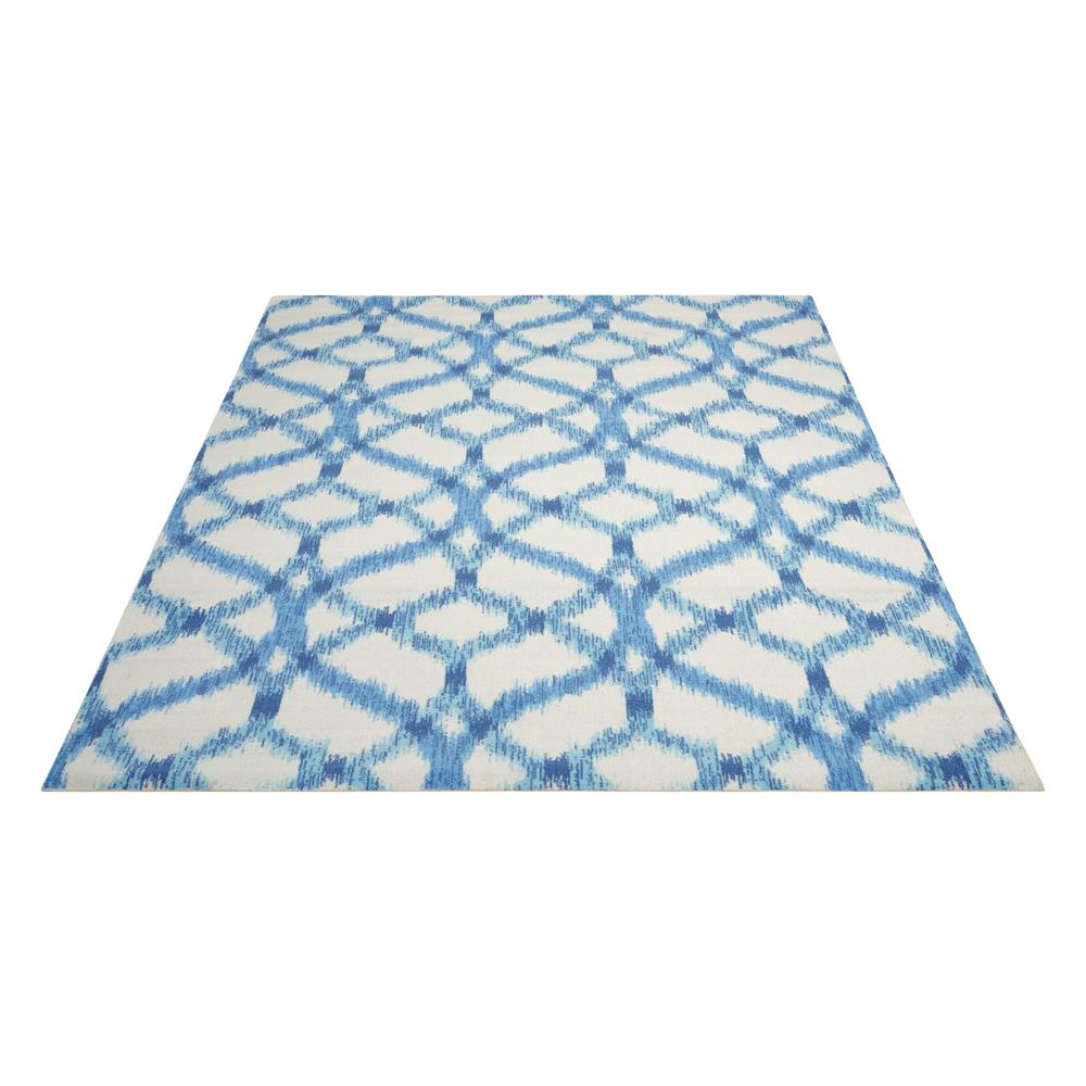 "Sun N Shade Area Rug, Aegean, 8'6"" x SQUARE. Picture 3"