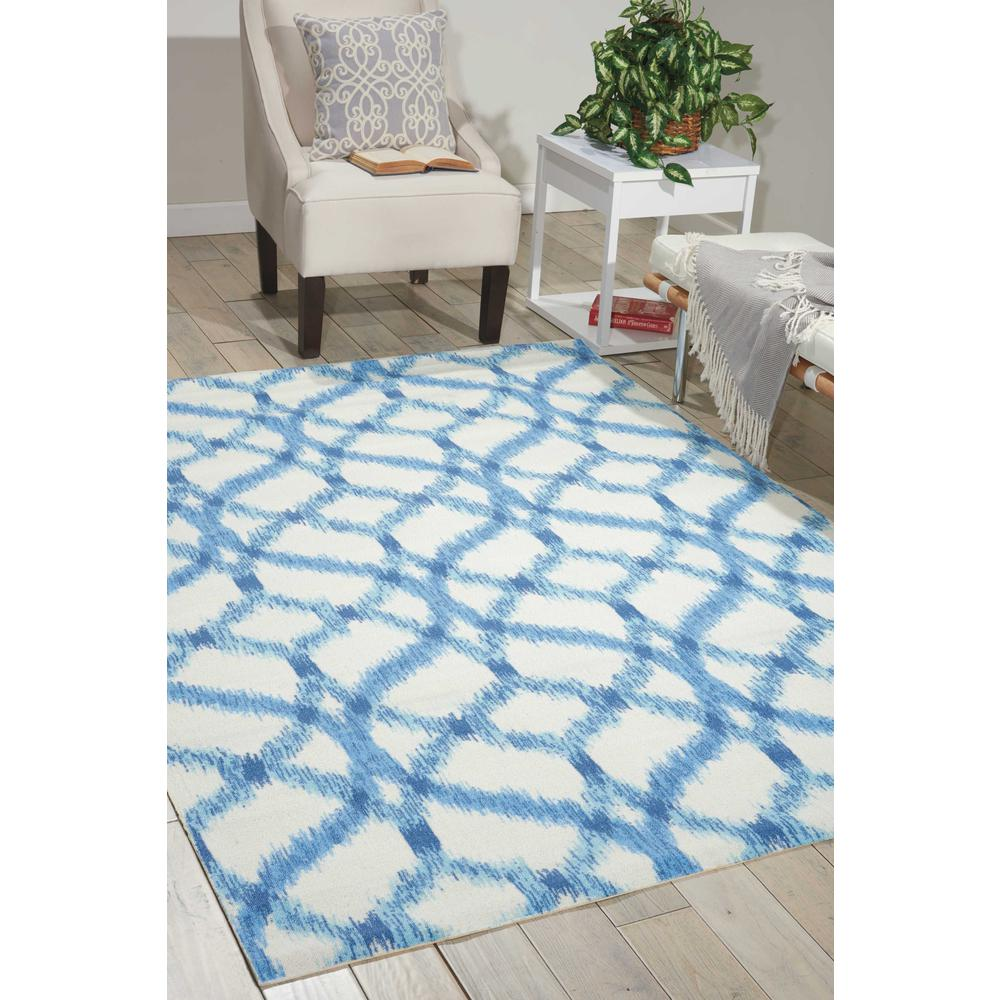 "Sun N Shade Area Rug, Aegean, 8'6"" x SQUARE. Picture 2"