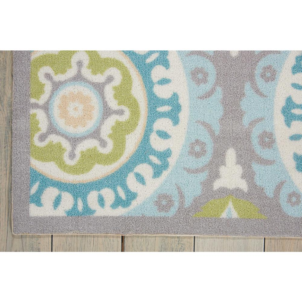 """Sun N Shade Area Rug, Jade, 5'3"""" x 5'3"""" SQUARE. Picture 4"""