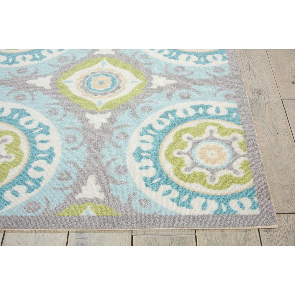 """Sun N Shade Area Rug, Jade, 5'3"""" x 5'3"""" SQUARE. Picture 5"""