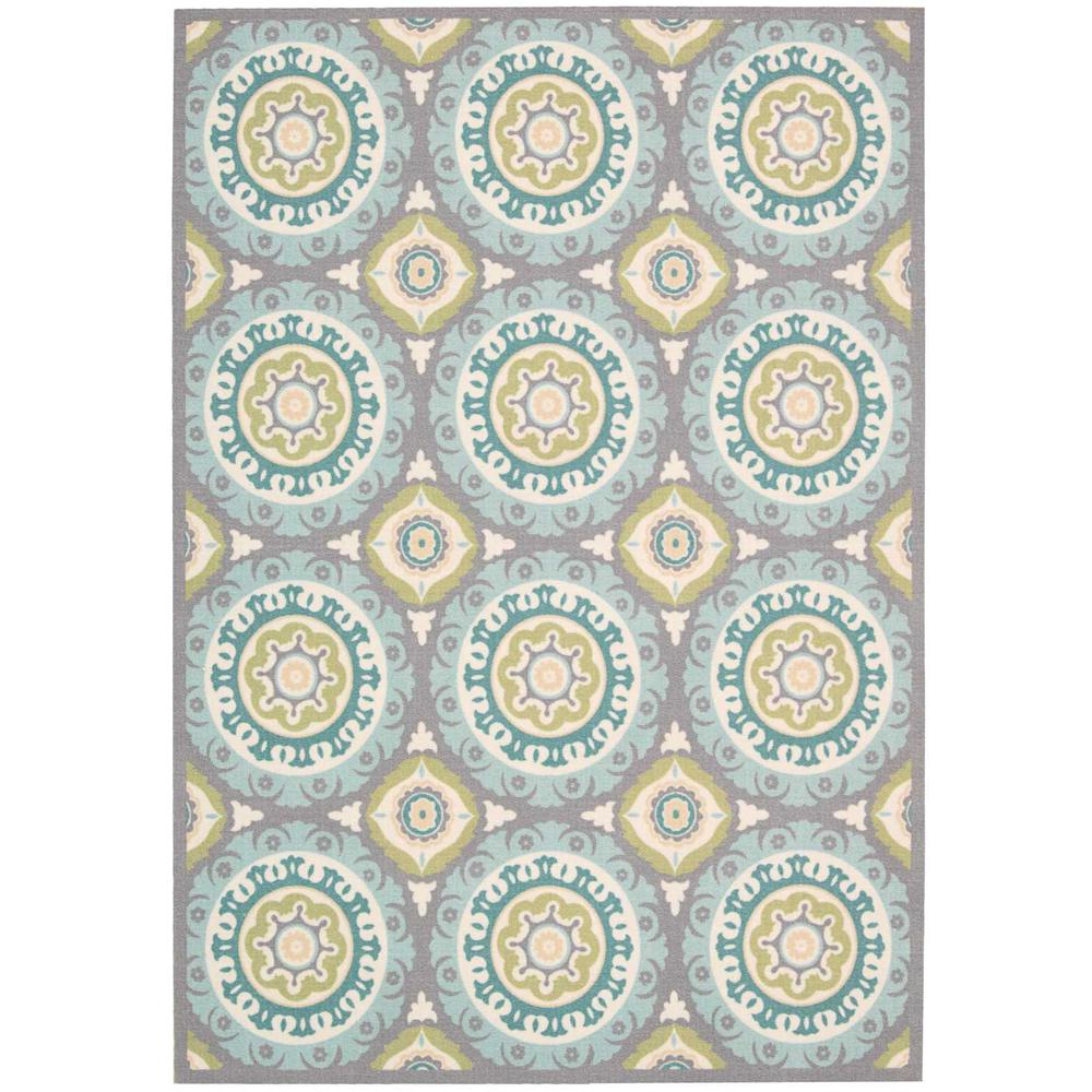 """Sun N Shade Area Rug, Jade, 5'3"""" x 5'3"""" SQUARE. Picture 1"""