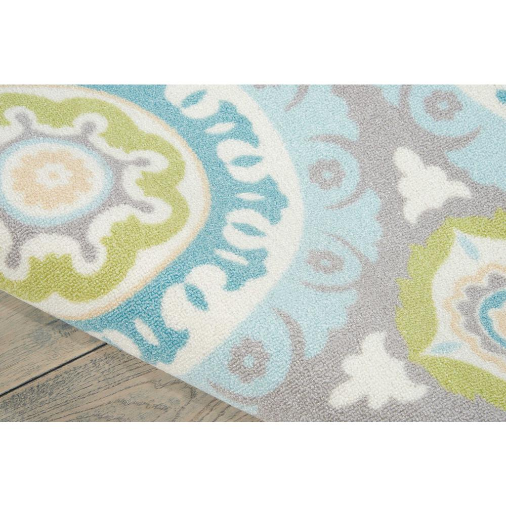 """Sun N Shade Area Rug, Jade, 5'3"""" x 5'3"""" SQUARE. Picture 6"""