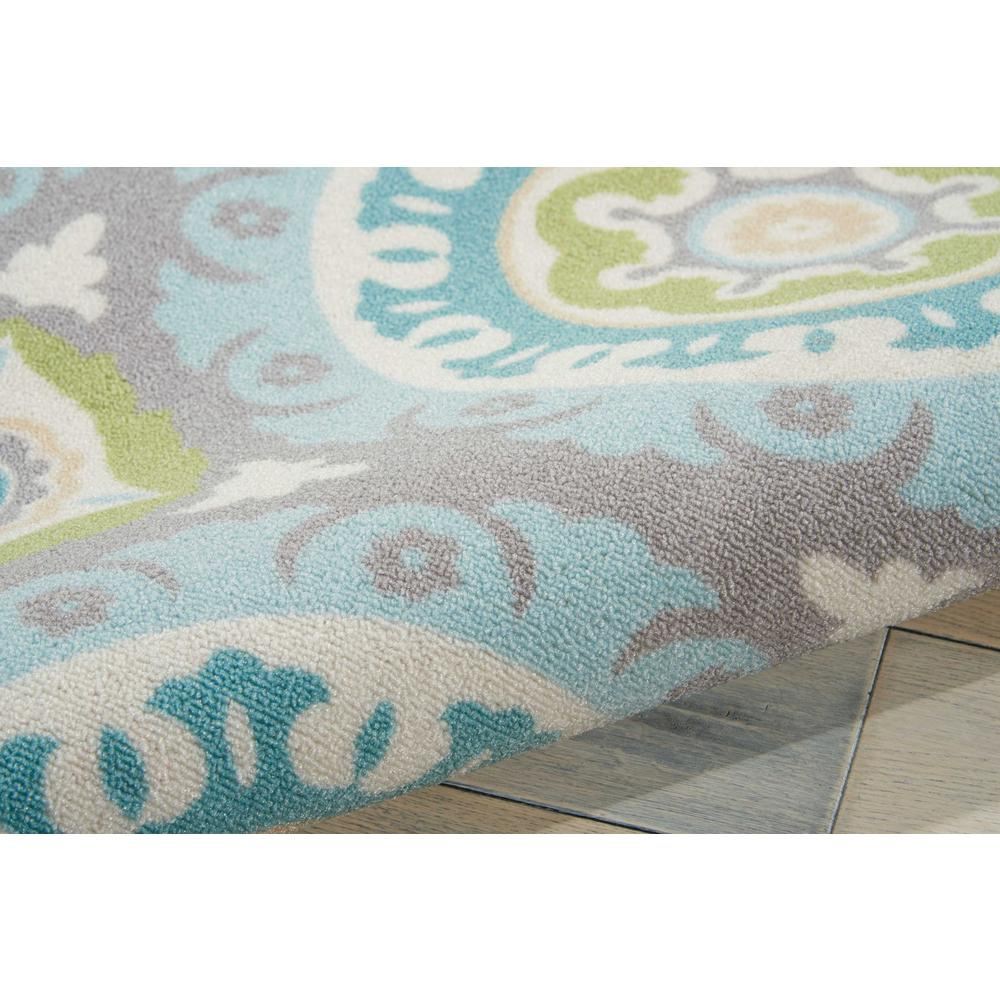 """Sun N Shade Area Rug, Jade, 5'3"""" x 5'3"""" SQUARE. Picture 7"""