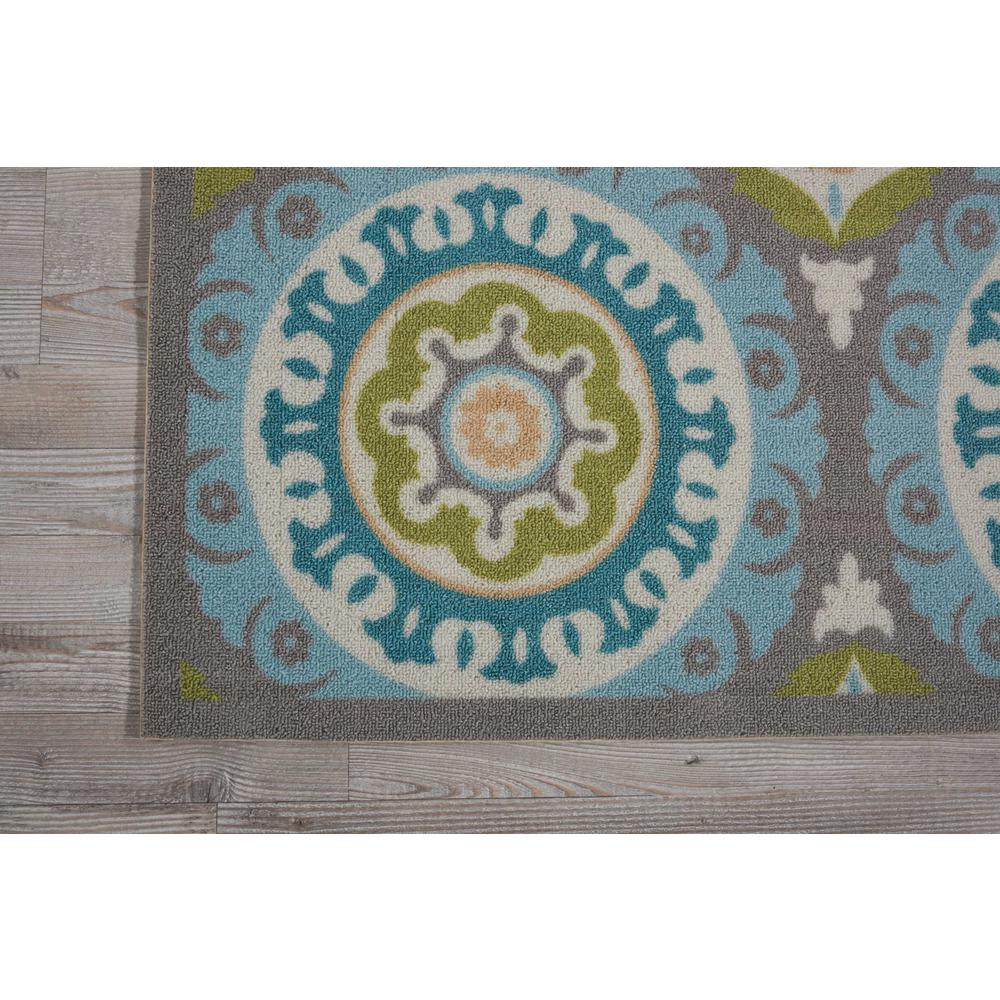 """Sun N Shade Area Rug, Jade, 6'6"""" x SQUARE. Picture 4"""