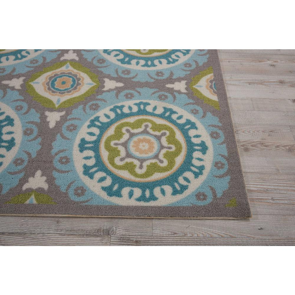 """Sun N Shade Area Rug, Jade, 6'6"""" x SQUARE. Picture 5"""