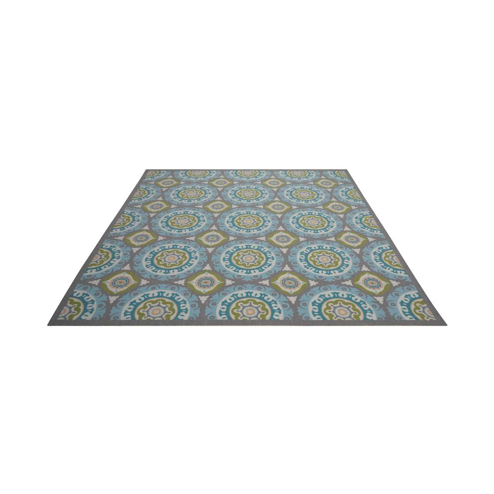 """Sun N Shade Area Rug, Jade, 6'6"""" x SQUARE. Picture 3"""