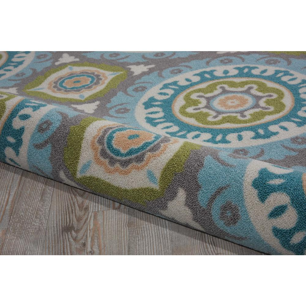 """Sun N Shade Area Rug, Jade, 6'6"""" x SQUARE. Picture 6"""