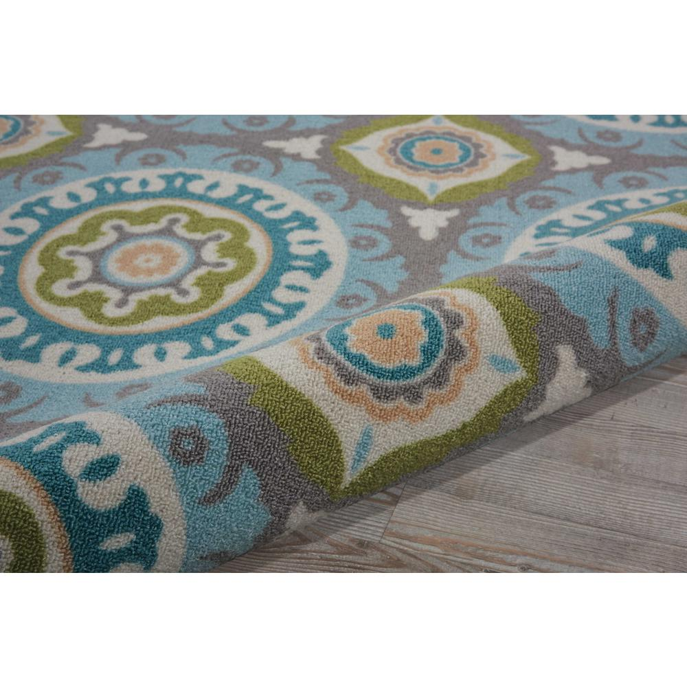 """Sun N Shade Area Rug, Jade, 6'6"""" x SQUARE. Picture 7"""