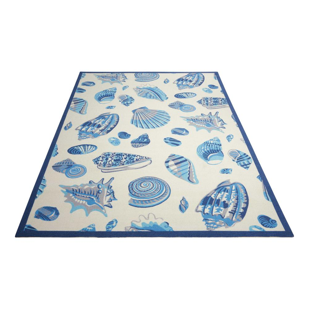 """Sun N Shade Area Rug, Ivory, 5'3"""" x 7'5"""". Picture 3"""