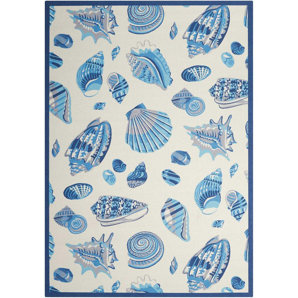 """Sun N Shade Area Rug, Ivory, 7'9"""" x 10'10"""". Picture 1"""
