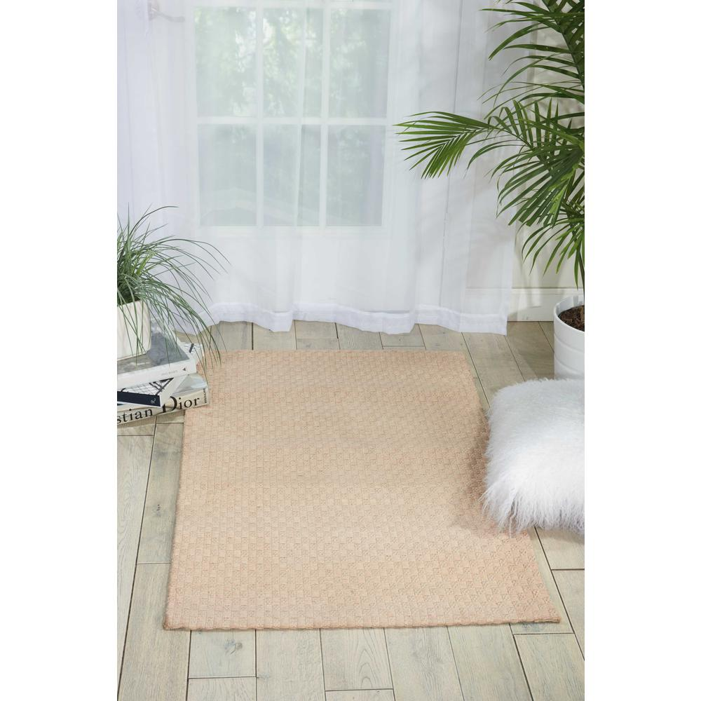 Nourison Sojourn Champagne Area Rug. Picture 2