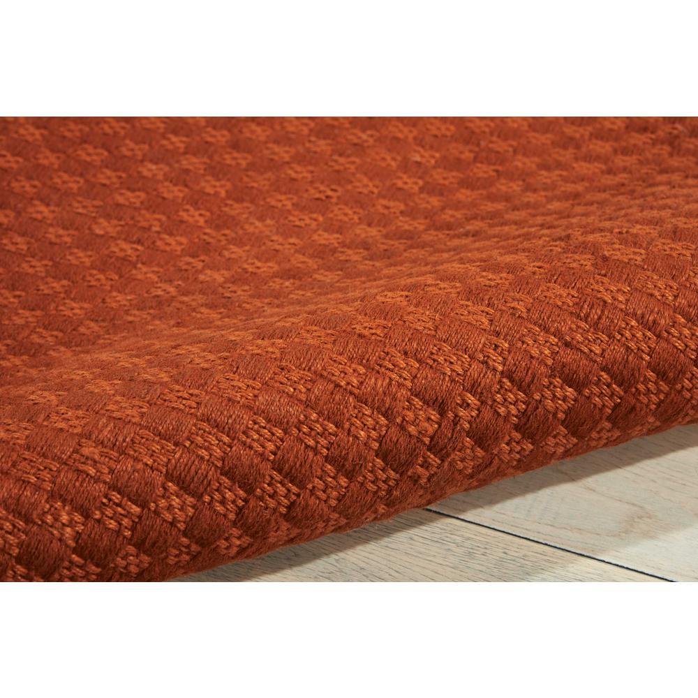 Nourison Sojourn Orange Area Rug. Picture 6