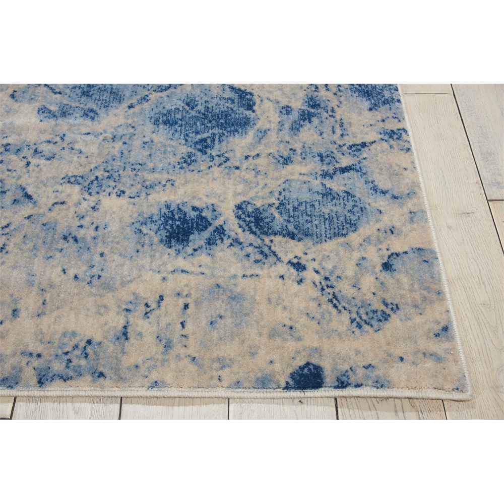 Nourison Somerset Blue Area Rug. Picture 3