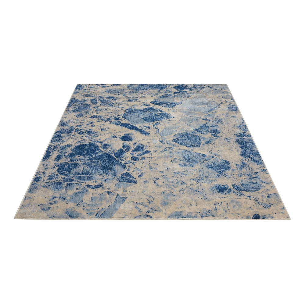 Nourison Somerset Blue Area Rug. Picture 5