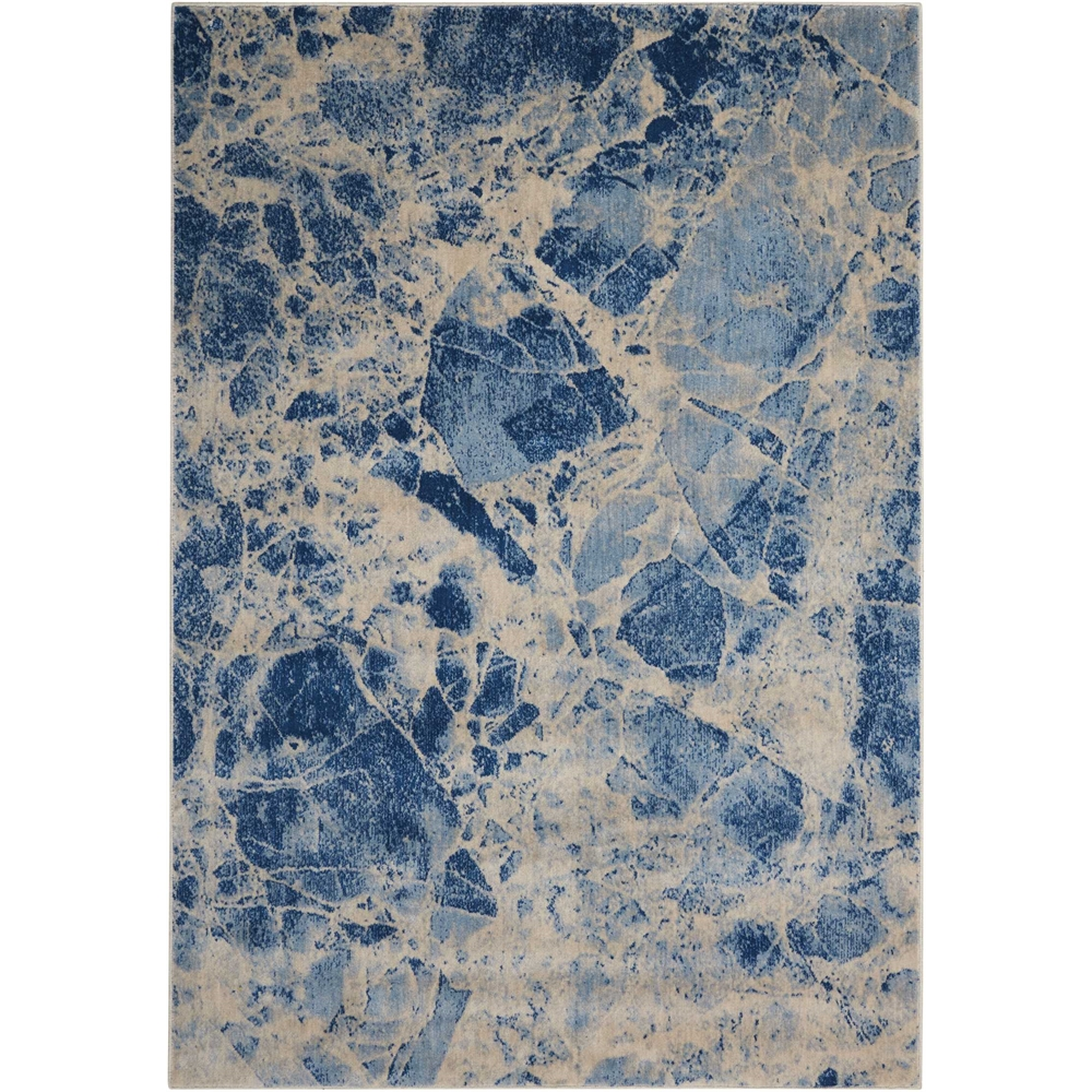 Nourison Somerset Blue Area Rug. Picture 1
