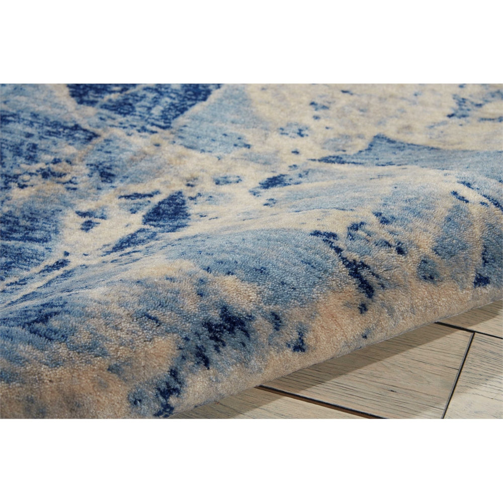 Nourison Somerset Blue Area Rug. Picture 7