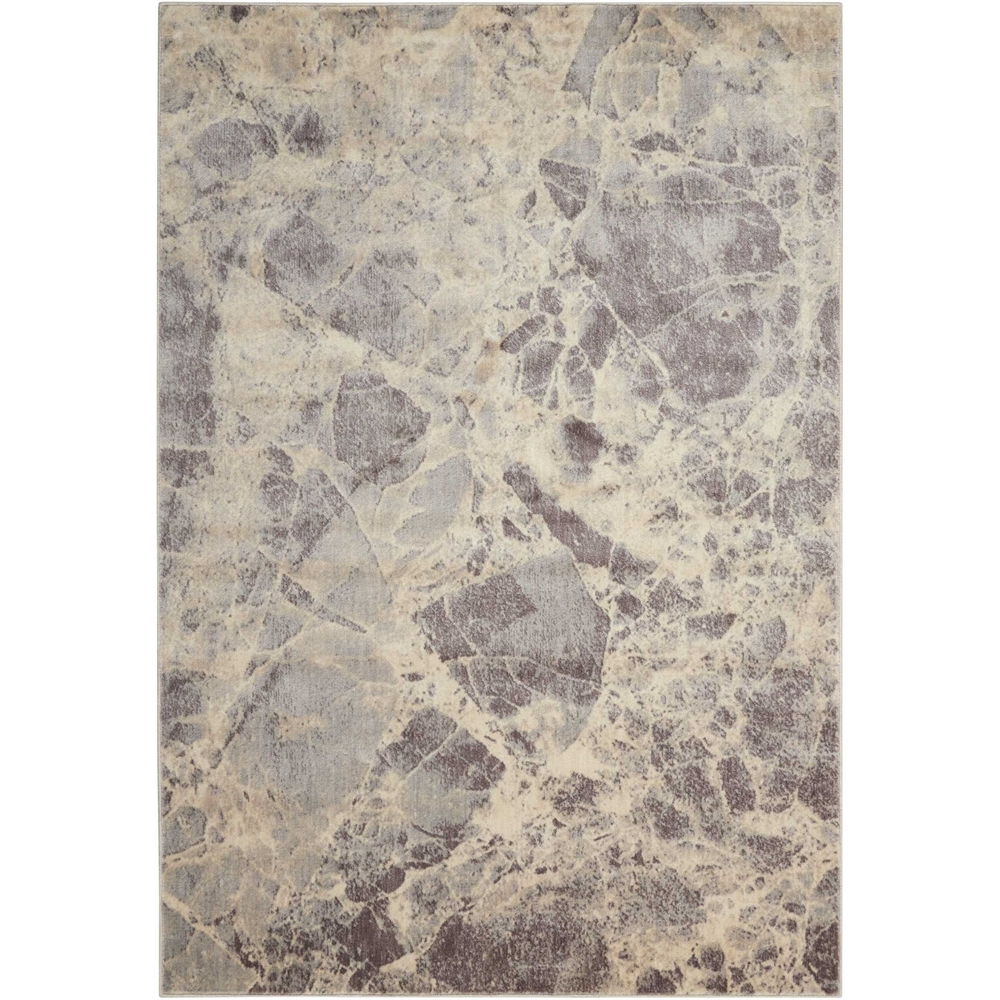 Nourison Somerset Grey Area Rug. Picture 1
