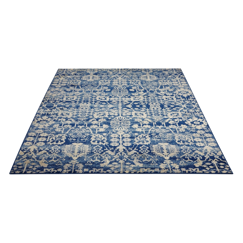 Nourison Somerset Navy Area Rug. Picture 5