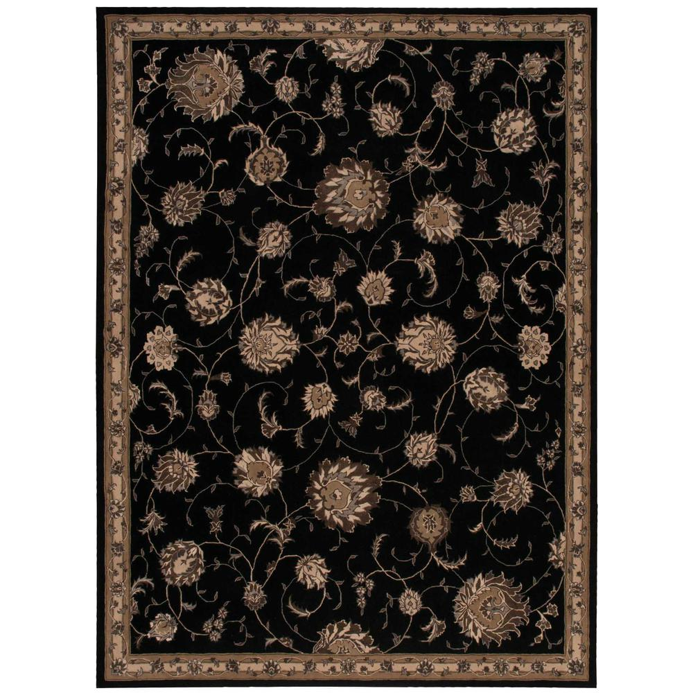 "Serenade Area Rug, Black, 3'9"" x 5'9"". The main picture."