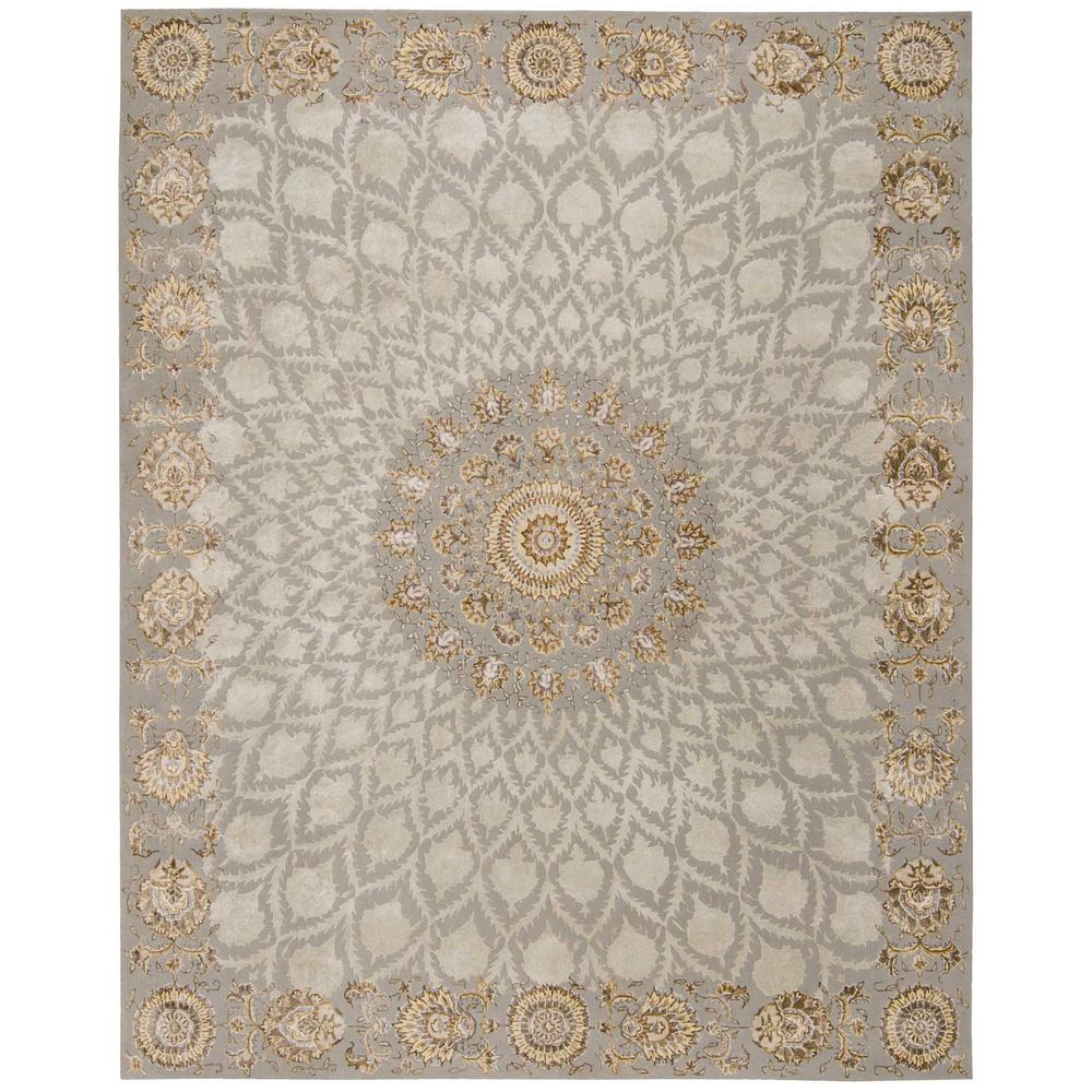 "Serenade Area Rug, Silver, 5'3"" x 7'5"". The main picture."