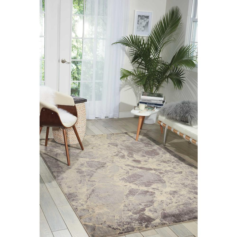 Nourison Somerset Grey Area Rug. Picture 2