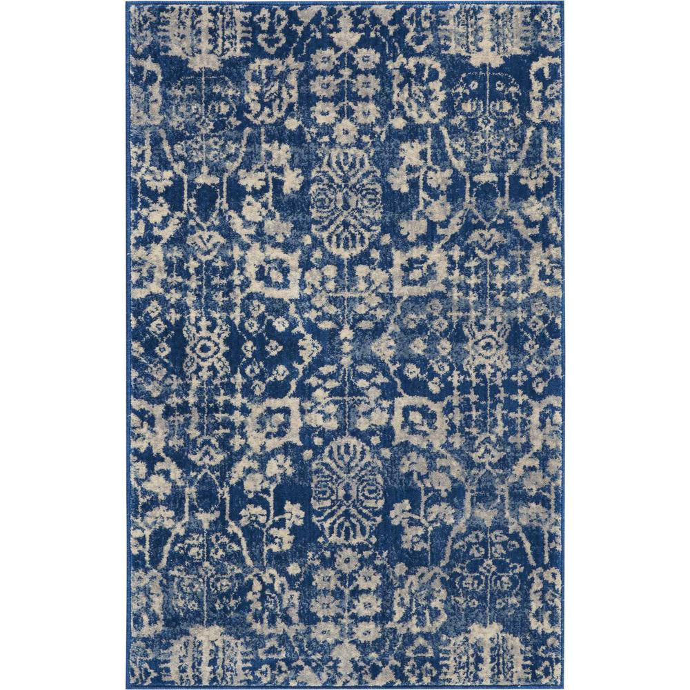 Nourison Somerset Navy Area Rug. Picture 1